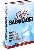 book cover how to improve self-sabotage